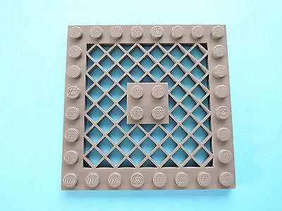 Lego 1 x Platte Gitter 4151  alt dunkelgrau 8x8   7317 10019 7163 7047