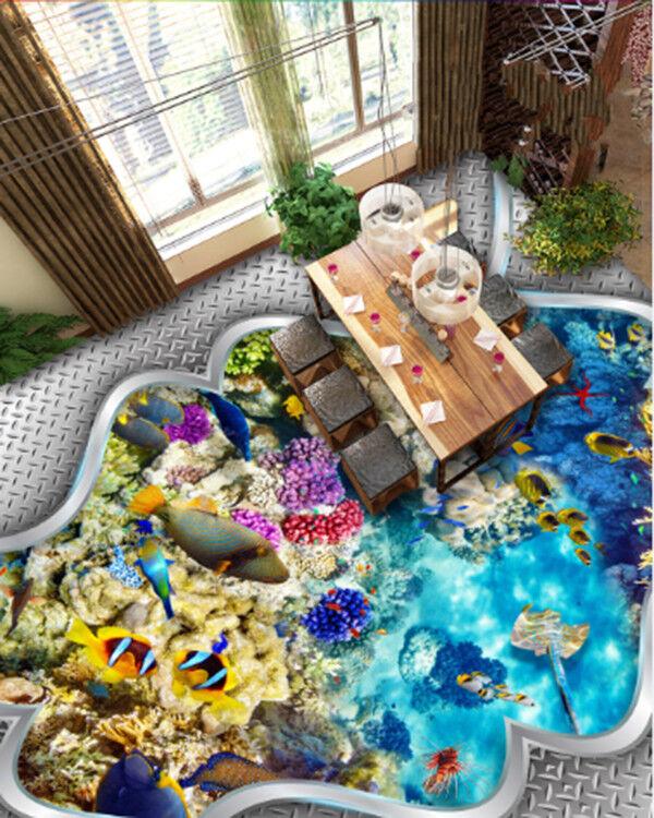 3D Ocean Coral 864 Floor WallPaper Murals Wall Print Decal AJ WALLPAPER US Carly