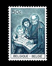 BELGIUM - BELGIO - 1965 - Filatelia della gioventù. Sir Rowalnd Hill da un affre