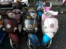MOTORINO SCOOTER ELETTRICO BICICLETTA 48v pedalata assistita ECOLOGICO new