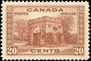 1938-Mint-Canada-VF-Scott-243-20c-Pictorial-Issue-Stamp-Never-Hinged