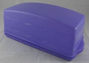 Tupperware J 29 Junge Welle Kastenkuchen Behälter Kuchenbehälter Orange Neu OVP
