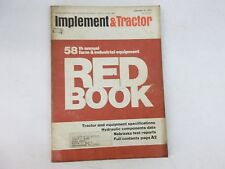 1974 Farm Tractor And Implement Red Book International John Deere Ford Oliver
