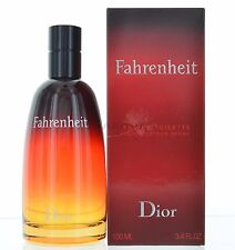 Fahrenheit by Christian Dior for Men  Eau De Toilette 3.4 OZ 100 ML Spray