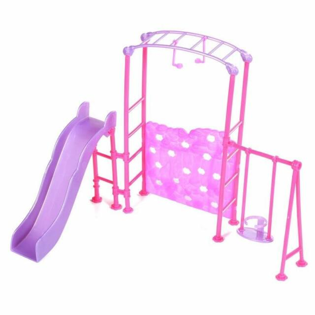 Slide Swing Set Accessories Dollhouse Doll Furniture Ebay