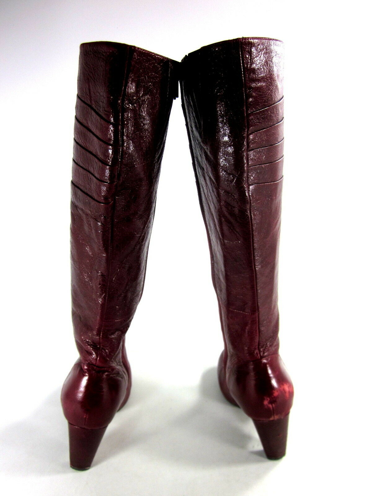 MIZ MOOZ WOMEN'S NARA LEATHER UNDER-THE-KNEE FASHION Stiefel ROT LEATHER NARA US SIZE 7.5 MED 778186