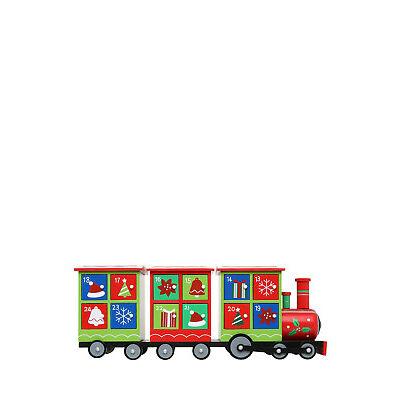 NEW Vue Jingle Bells Wood Train Advent Calendar