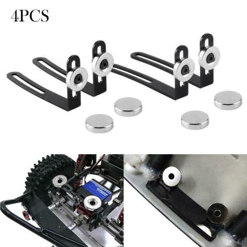 4PCS Shell Body Mount L Magnet Bracket for 1:10 RC Crawler Car Axial SCX10 90046