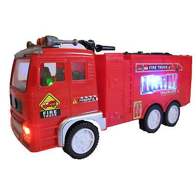 Elektrisches Feuerwehrauto Polizeiauto selbstfahrend LED Sound Spielzeug Auto