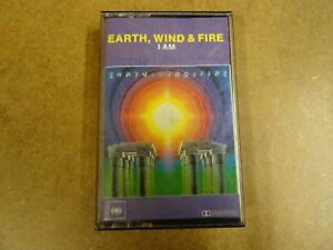 MUSIC-CASSETTE-EARTH-WIND-amp-FIRE-I-AM