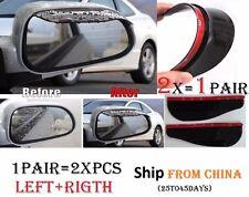 1Pair 2x Car Mirror Rain Snow Protector Guard Cover Deflector Miroir Protecteur