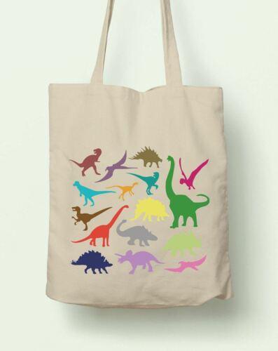 Juste Dinosaures Réutilisable Shopping Sac Fourre-tout Planet éthique Chiffon T-Rex Jurassic