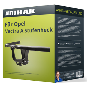 Starre Anhängerkupplung für OPEL Vectra A Stufenheck 1988-1995 86//87 J89 NEU AHK