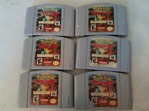 One-1-Random-game-not-the-whole-lot-Pokemon-Stadium-Nintendo-64-Authentic