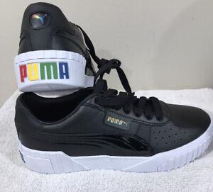 Details about Puma Pride Platform Sneakers, Black/white, Wmns US 8.5