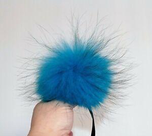 schwarz 17cm blau Fellbommel