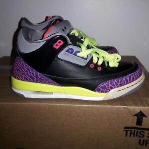 Nike Air Jordan Boys Retro 3 Sneakers
