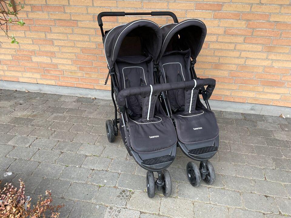 Klapvogn Beemoo, tvillingevogn, søskendevogn