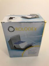 Rolodex Model 67197 Covered Business Card File Include 50 Sleeved Cards