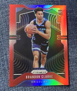 2019-20-Panini-Prizm-Red-266-Brandon-Clarke-Memphis-Grizzlies-RC-Rookie-299
