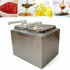 Stainless 1234 Bucket Soy Sauce Dispenser Pump Squeeze Condiment Pump New