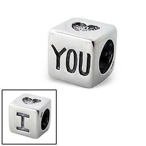 New Rhona Sutton 925 sterling silver 039I heart you039 love cube charm bead - <span itemprop=availableAtOrFrom>London, United Kingdom</span> - Returns accepted Most purchases from business sellers are protected by the Consumer Contract Regulations 2013 which give you the right to cancel the purchase within 14 days after the day y - London, United Kingdom