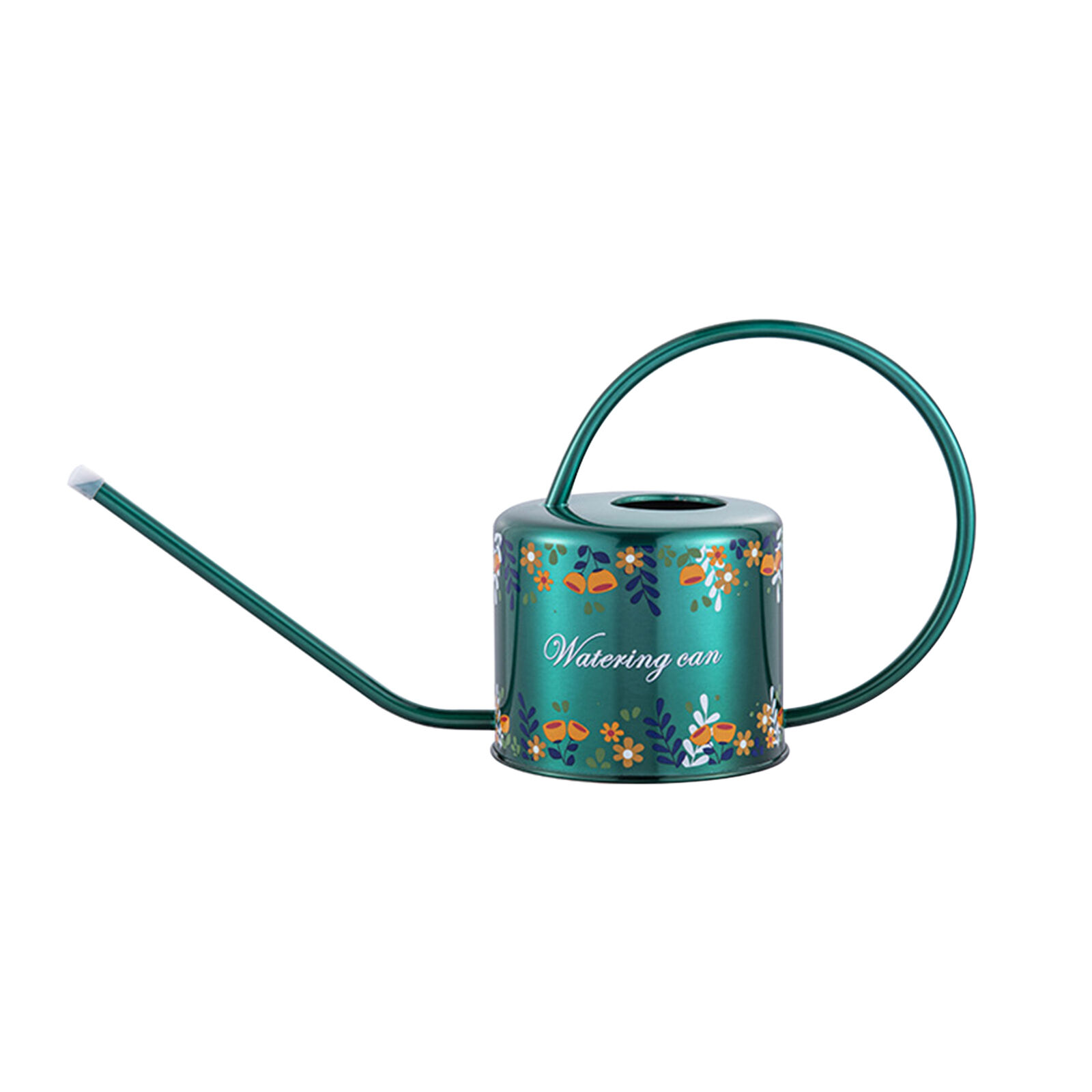 1.3L Printed Large Capacity Long Spout Flower Plant Stainless Steel Watering Can