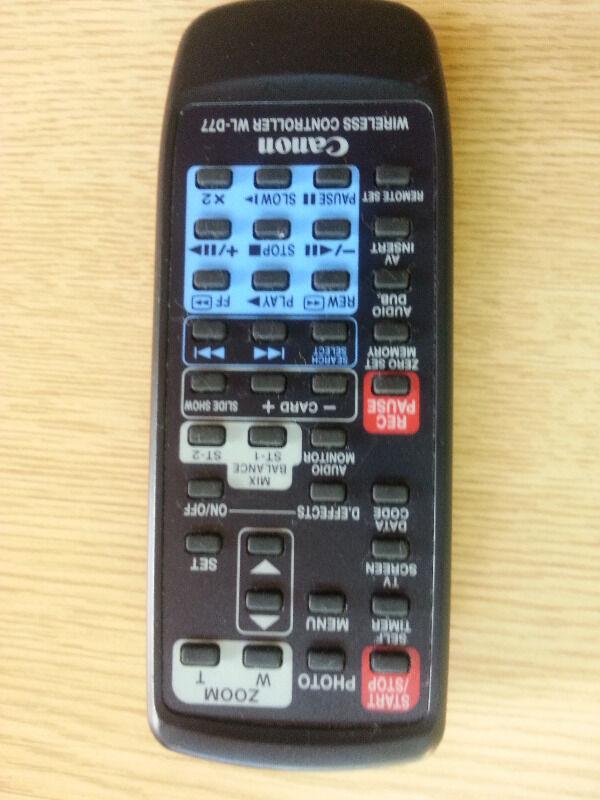 Canon Remote