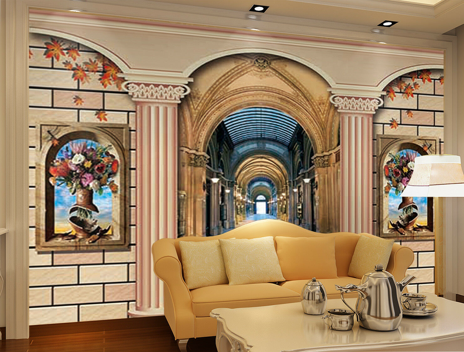 3D Romantic Door 785 Wall Paper Murals Wall Print Wall Wallpaper Mural AU Kyra