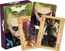JOKER - DARK KNIGHT - PLAYING CARD DECK - 52 CARDS NEW - LEDGER BATMAN 52365
