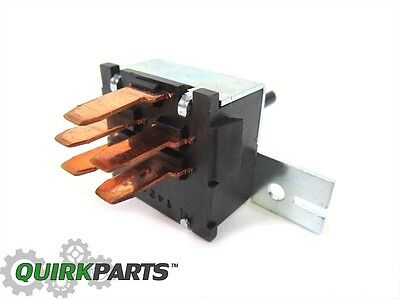 2000-2004 Jeep Wrangler AC Heater Fan Switch Speed Blower MOPAR GENUINE OEM
