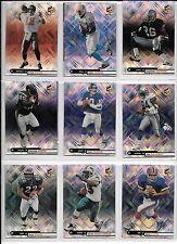 Doug Flutie plus 8 more STATS cards 1999 Football Lot