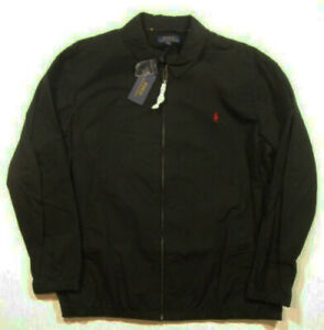 Cotton Jacket Bigamp; Bayport Windbreaker Polo Ralph Men's Tall About Details Lauren Black wNn80vmyO