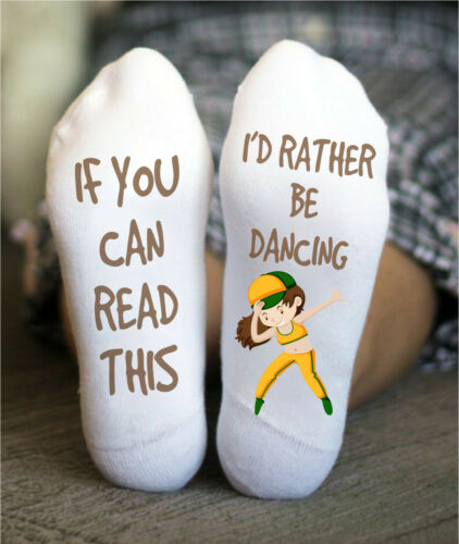 Ballet Socks Dancing Boy Girl Valentine/'s Day Birthday Funny Christmas Gift