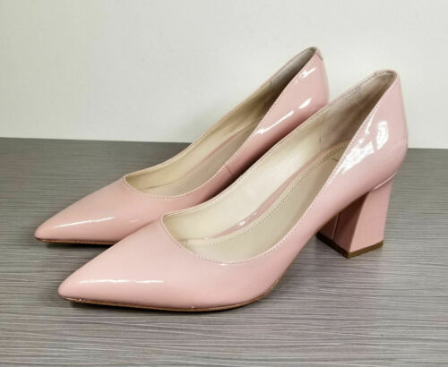 Marc Fisher Fisher Zala Pump, Light Pink Patent, W