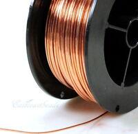 Copper Wire, 16 Gauge, Dead Soft, Copper Jewelry Wire, Craft Wire, 10 Feet, 003
