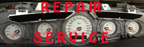 1997 1998  2001 PLYMOUTH PROWLER INSTRUMENT CLUSTER REPAIR SERVICE