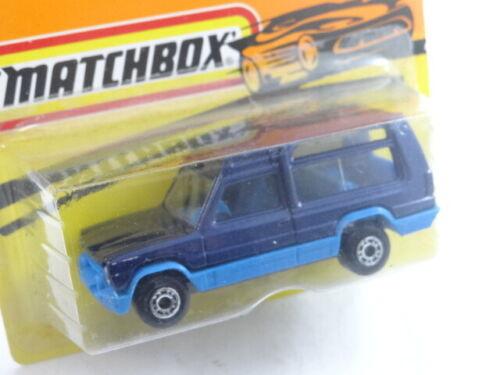 Bulgarian Matchbox Matra Rancho Die Cast Car Model 1:60 New Old Bulgaria Blister
