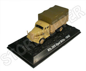 Kfz Germany 1942-1//72 No19 305 Opel Blitz