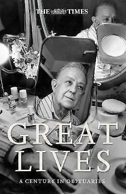 1 of 1 - , The Times Great Lives: A Century in Obituaries, Very Good Book