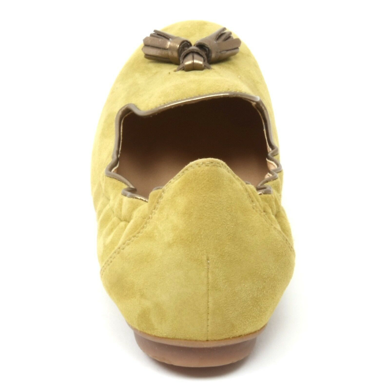 B4782 mocassino mocassino mocassino mujer Hogan Wrap 144 Pantofola verde oliva loafer zapatos Woman 5fff92