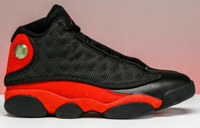 Air Jordan 13 XIII Bred Black Red