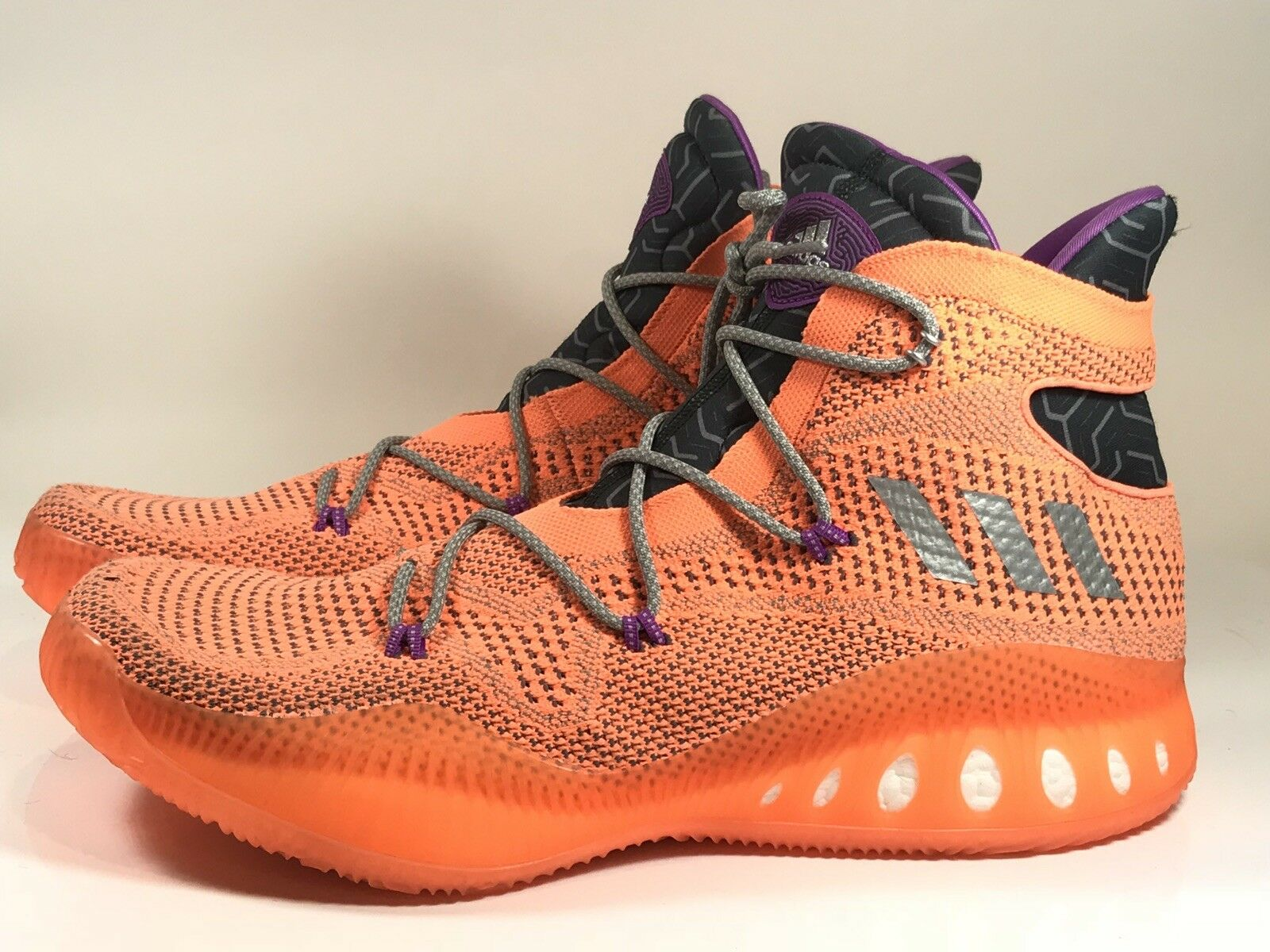 Adidas Crazy Explosive PK Primeknit ALL STAR Orange size 18 Ultra BB8370 Boost