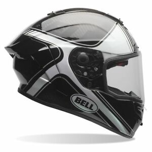Bell-Race-Star-Tracer-Gloss-Motorcycle-Helmet-rrp-599-99-Now-299-99
