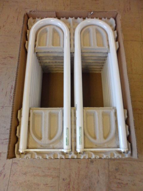 Case 14x Sylvania FBO32//835//6//ECO 32 Watt T8 U-Bent Fluorescent Bulb 3500K