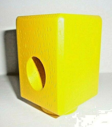 Yellow Slide Block Replacement Parts wooden Marble chase Hape Quadrilla 1