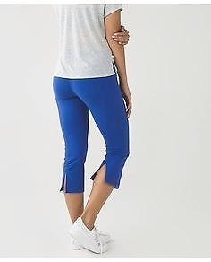 LULULEMON-NWT~FULL-ON LUON® *GATHER & CROW* YOGA TIGHT LEGGINGS CROP PANTS~8
