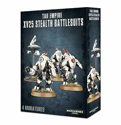 Tau - XV25 Stealth Battlesuits - FREE SHIPPING