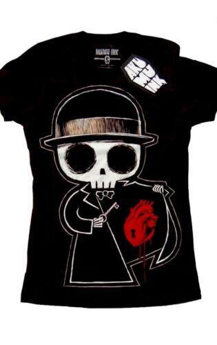 Akumu Ink Locked Away T Shirt Tattoo Zombie Horror Girlie Gothic  #3155 205