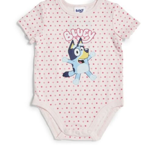 Details about  /New Size 1 Bluey Baby Romper Bodysuit